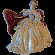 "Florence Ceramics Pasadena ""Victoria"" Seated Figure, Circa 1952"
