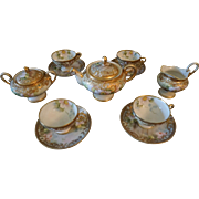 Antique Morimura Noritake Hand Painted Nippon Tea Set