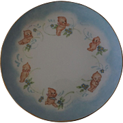 Unique Vintage Kewpie Plate