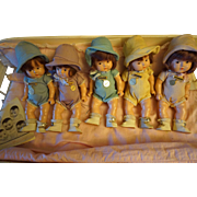Madame Alexander Composition Toddler Dionne Quintuplets with BEd - Red Tag Sale Item
