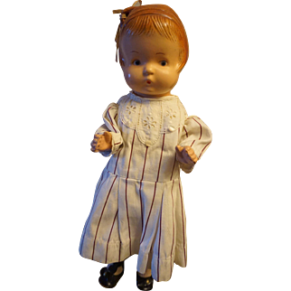 Early E. Goldberger (Eegee) Composition Doll