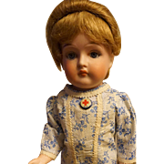 "Exceptional Rare Fulper 16"" Bisque Doll"