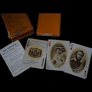 1901 Hawaiian Souvenir Playing Cards Wall, Nichols Co.