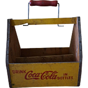 Rare 1940s WW2 Coca Cola War Wings Carrier