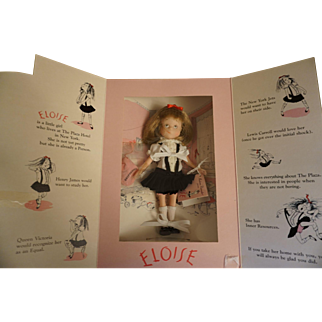 """Kay Thompson """"Eloise"""" doll - NIB"""