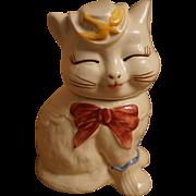 Shawnee Puss-N-Boots Cookie Jar, Creamer, Salt Shakers