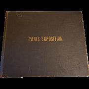 "Original 1900 ""Paris Exposition Reproduced"" book - R. S. Peale Company"