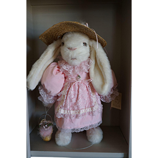"""Tilly Collectible """"Bethany"""" 24"""" Easter Bunny Made in U.S.A."""