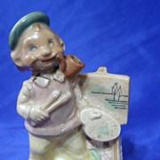 Vintage Japan Artist Smoker Figurine