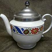 Vintage Royal Rochester Teapot with Ceramic Infuser