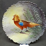 Blakeman & Henderson (B&H) Limoges Game Bird Plate