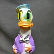 Vintage Chalk Donald Duck Figure