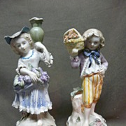 Charming Pair Cordey Figurines