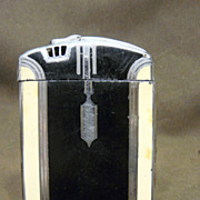 Vintage Art Deco Ronson Lighter Cigarette Case