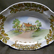 Royal Doulton Series Ware Old English Inns Vegetable Server