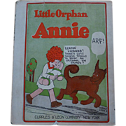 1926 Little Orphan Annie Book w/ Dust Cover