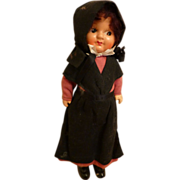 1937 Helen Duncan Herr Composition Amish Doll