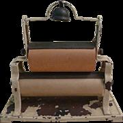 Rare Salesman Sample Miniature Double Paper Roller