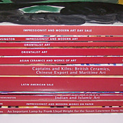 11 Christie's Auction Catalogues (Various Subjects), $5/ea. ($50 total)