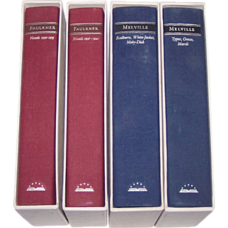 18 Volumes, Library of America Series, c.1980-1985 ($10/ea.)