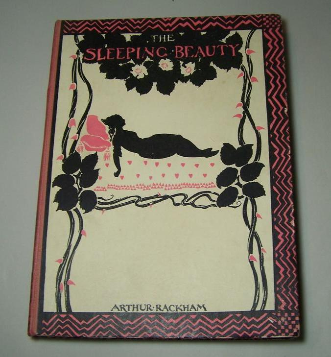 "Evans, ""The Sleeping Beauty,"" Heinemann 1st Ed., Rackham Illustrations, 1920"