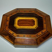 Georgian Octagonal Table Box, c.1810