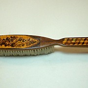 Tunbridge Ware Clothes Brush, c.1860