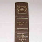 """Romantic Poets: William Blake to Edgar Allan Poe"" Franklin Library, W. H. Auden (Ed.) Introduction, c.1982"