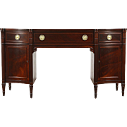 Traditional Vintage Mahogany Sideboard, Server or Buffet