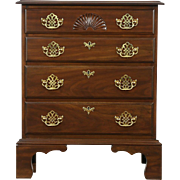 Harden Signed Cherry Vintage Linen Chest or Dresser