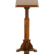 Lectern, Podium, Bible, Music  or Reception Stand, Adjustable 1920 Antique