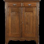 Pie Safe 1890's Antique Pantry Cupboard, Oak & Ash
