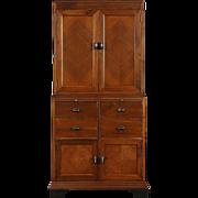 Art Deco 1930's Vintage Doctor Medical or Bathroom Cabinet, Signed Allison