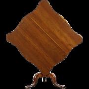 Tilt Top Cherry 1810 Antique Lamp, Tea, Breakfast or Game Table