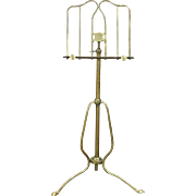 Brass Adjustable 1900 Antique Music Stand