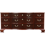 Baker Signed Traditional Dresser or Console, Banded Top