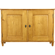 Country Pine Antique 1890's Sideboard, Pantry Cupboard or TV Console Cabinet