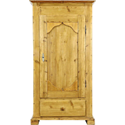 Country Pine Antique 1890 Armoire, Wardrobe or Closet, Austria