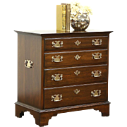 Traditional Cherry Small Chairside, Silver Chest, Nightstand Pennsylvania House
