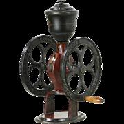 Elgin National Coffee Mill, Woodruff & Edwards Cast Iron 1890's Antique Grinder
