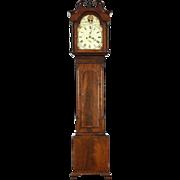 Scottish Georgian 1825 Antique Tall Case Grandfather Clock, Picken of Edinburgh
