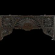 Victorian Oak Stick & Ball Fretwork Archway 1885 Antique Architectural Salvage