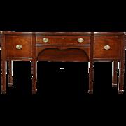Kittinger Signed Vintage Mahogany Sideboard, Server or Buffet, Wine Drawers