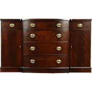 Traditional  Vintage Mahogany Sideboard, Server or Buffet, Signed Rockford