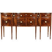 Traditional Mahogany Sideboard, Server or Buffet, 1930's Vintage Signed Romweber
