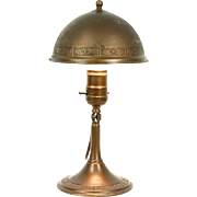 Greist Copper Pat. 1925 Antique Wall Sconce, Lamp or Clamp Light