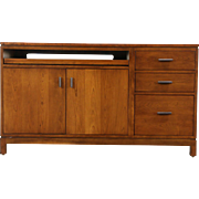 Stickley Signed Cherry Computer Desk or Credenza, 2014