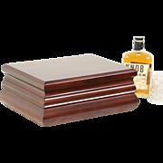 Cherry Tobacco Cigar Humidor, Lift Out Tray