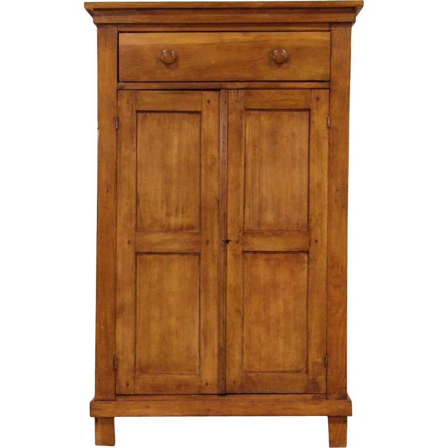 Country Pine 1870 Primitive Antique Jelly Cupboard
