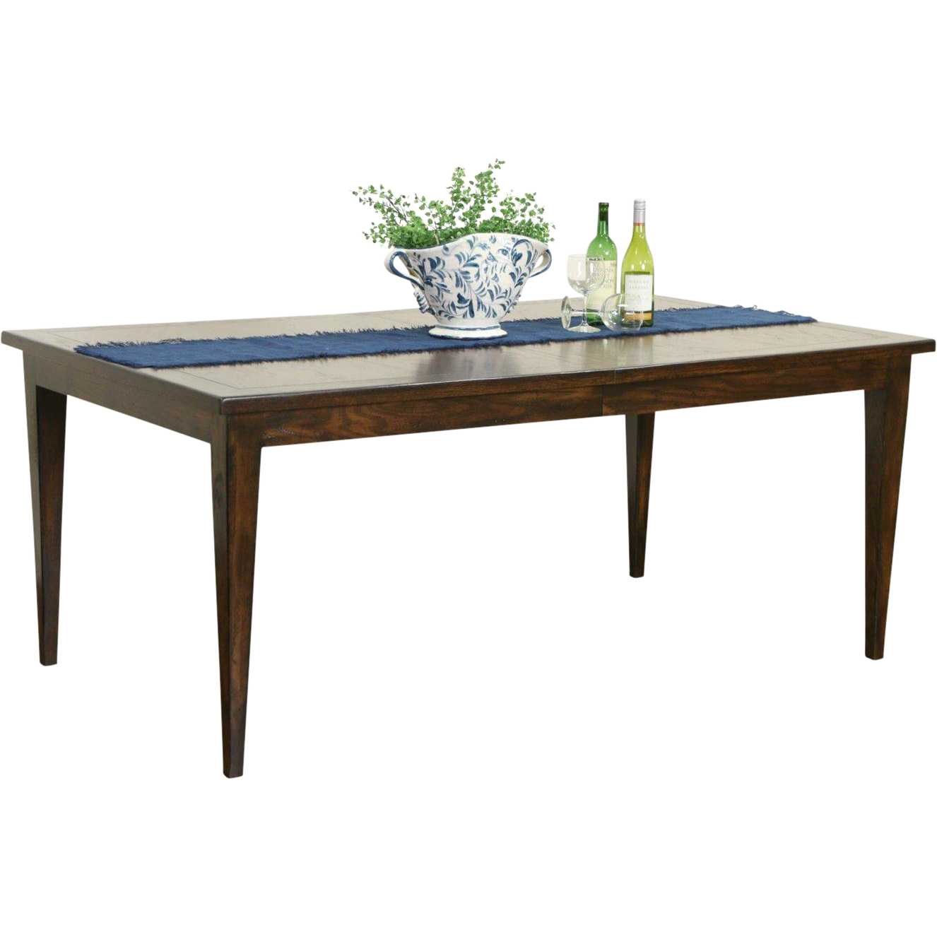 French Oak 1930's Vintage Dining Table